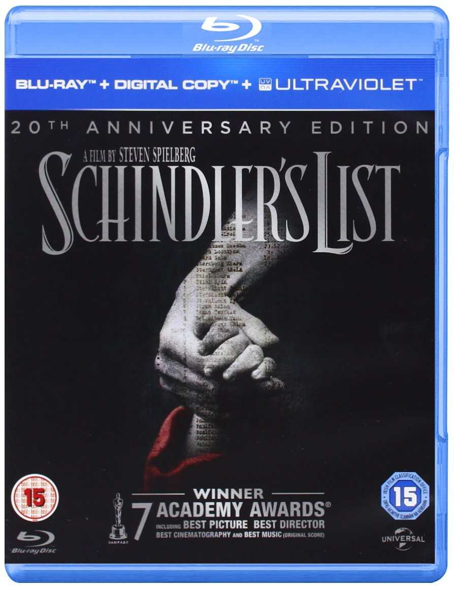 Cover - Schindler's List