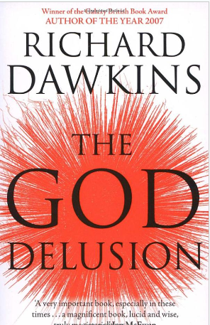 Cover - The God Delusion