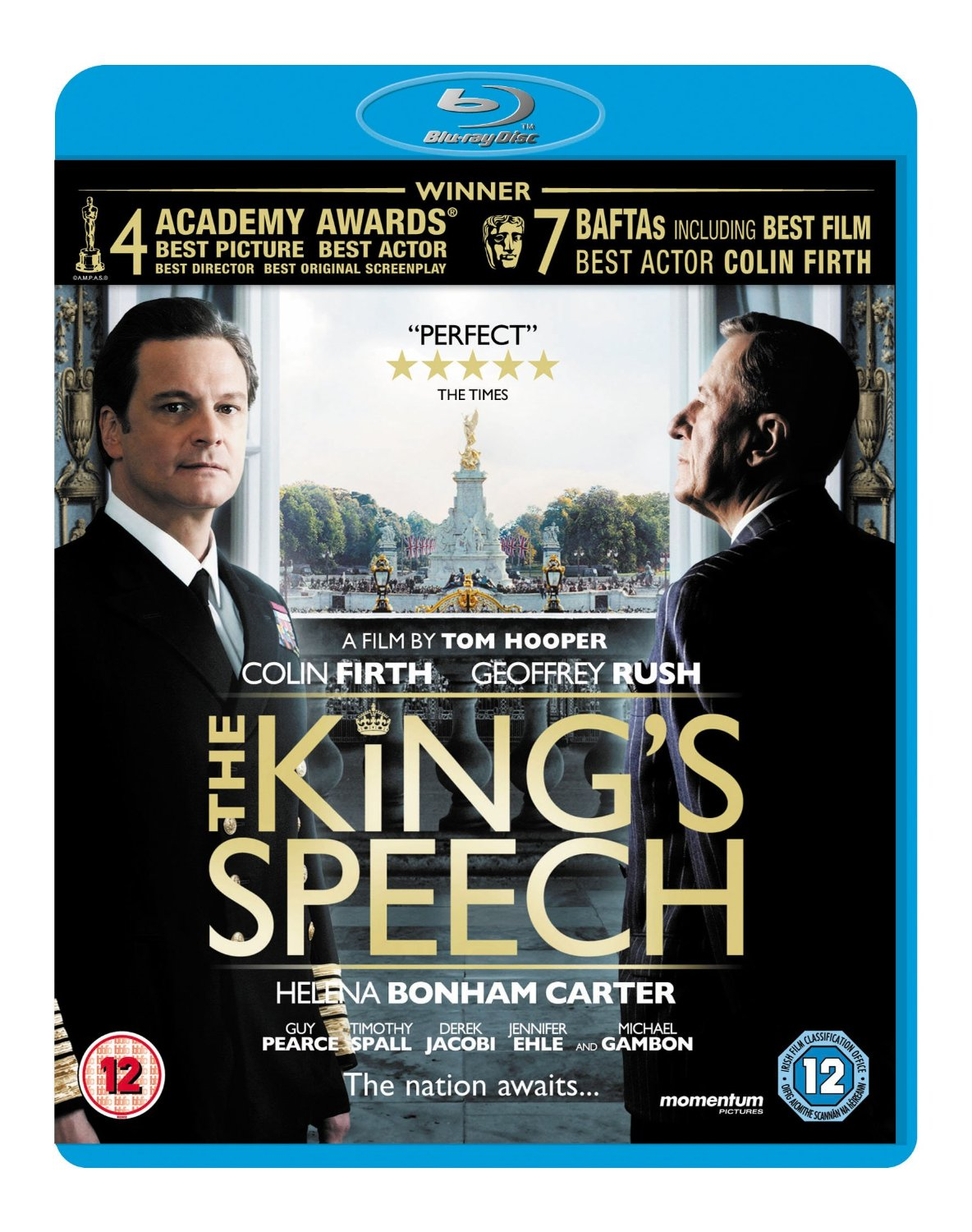 Cover - The King's Speech