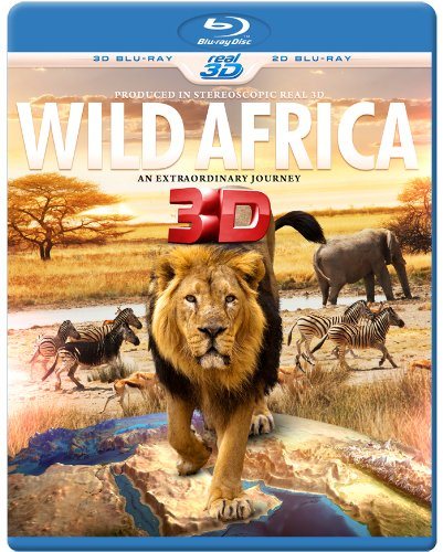 Cover - Wild Africa in 3D