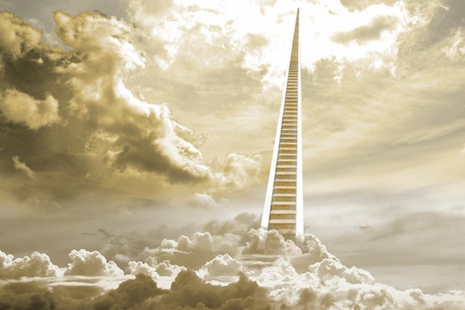 Stairway to Heaven as envisaged by Christians two centuries ago