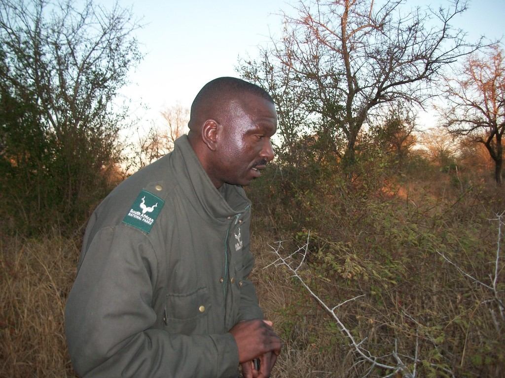 Andre Madanda, our Guide