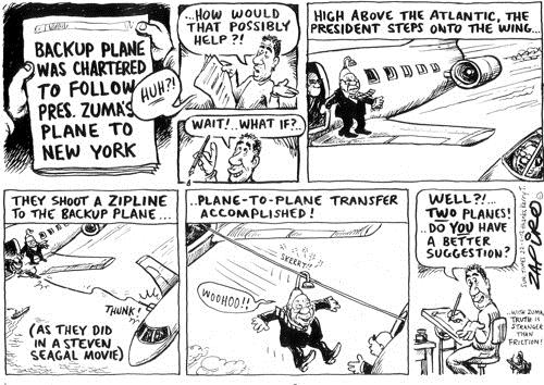 120122 — Backup plane for Jacob Zuma published in Sunday Times on 22 Jan 2012