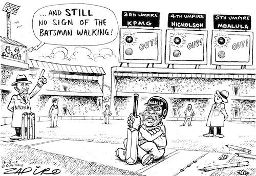 120318 — Gerald Majola - just won't go published in Sunday Times on 18 Mar 2012