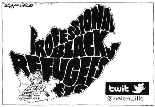 120325 — @helenzille - Professional Black Refugees published in Sunday Times on 25 Mar 2012