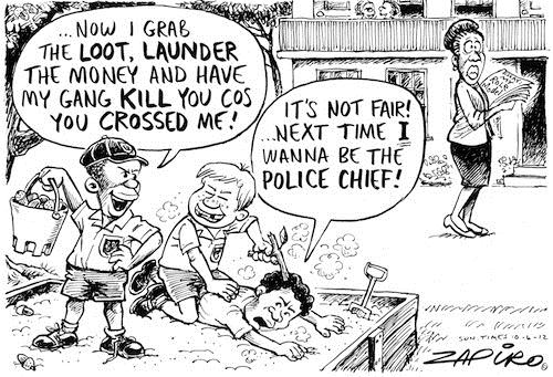 120610 — I wanna be Police Chief published in Sunday Times on 10 Jun 2012