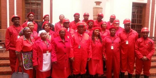 EFF in their garb
