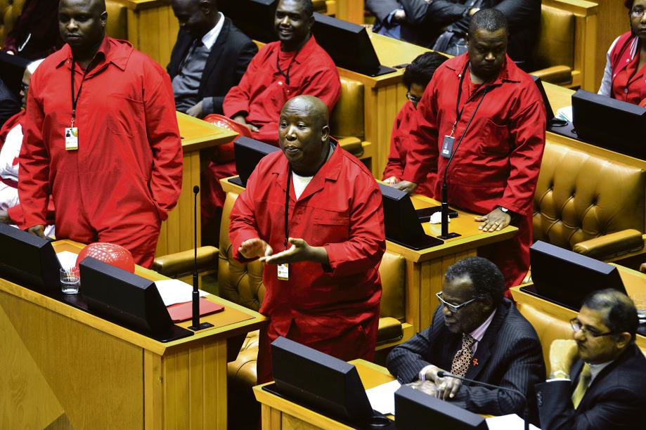 EFF in Parliament#1