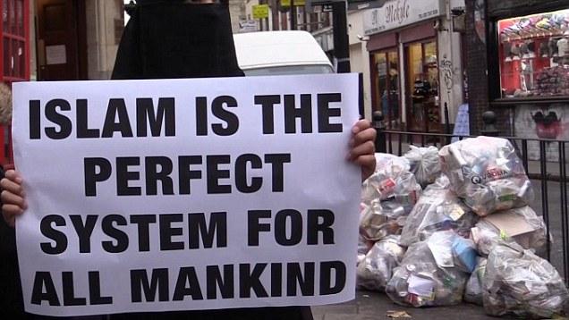 Muslim demonstration#1