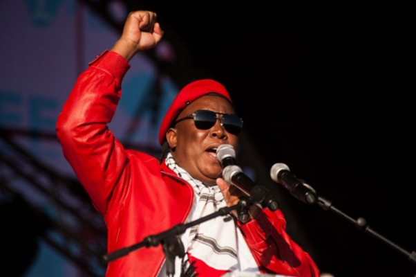 Malema at the Press Club in Cape Town#2