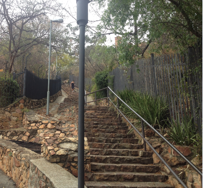 The Westcliff Stairs