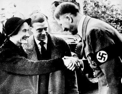 Prinz Harrys Urgroßonkel Herzog von Windsor traf Hitler