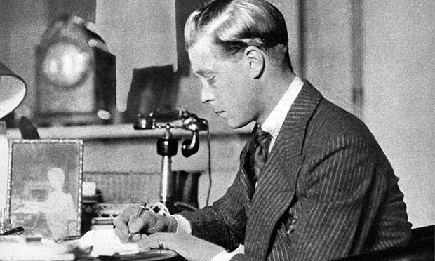 DJ Taylor reimagines Edward VIII, shown here in 1936, as the spokesman for a covert network of British fascists