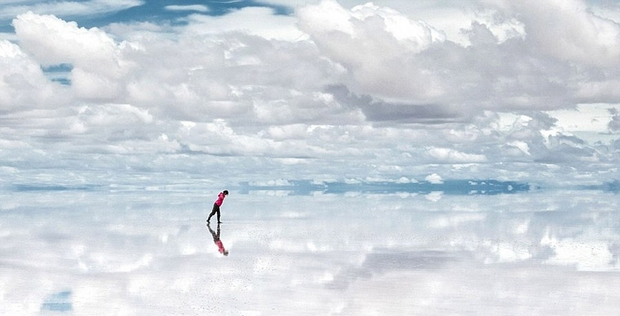 Solar du Uyuni in Bolivia