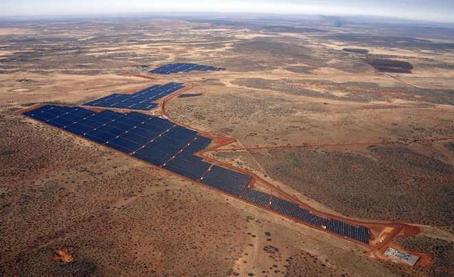 Jasper solar power project#4