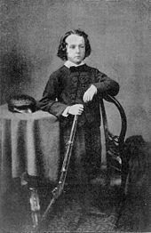 Cecil Rhodes as a young boy