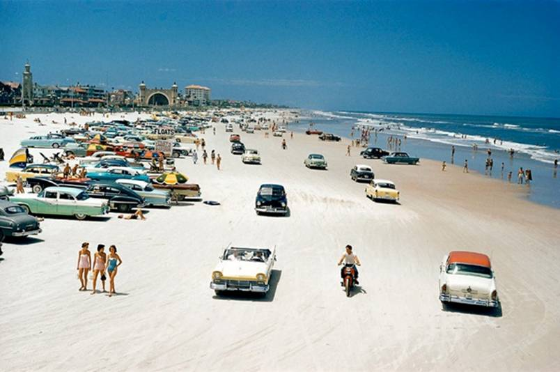 Daytona Beach in 1957