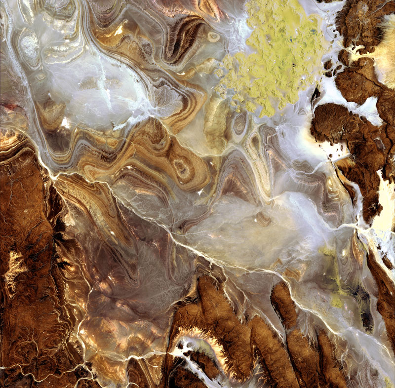 Earth's Rich Tapestry#3 - Algerian Sahara
