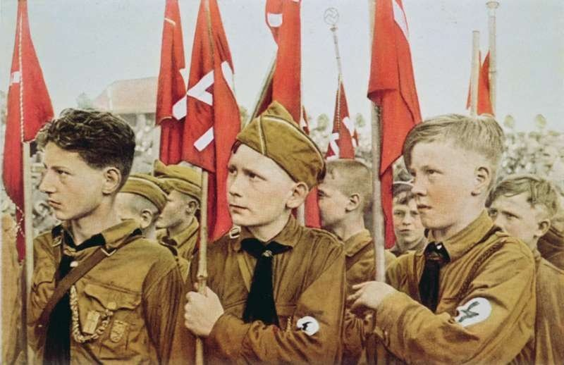 Hitler Youth Parade in 1933