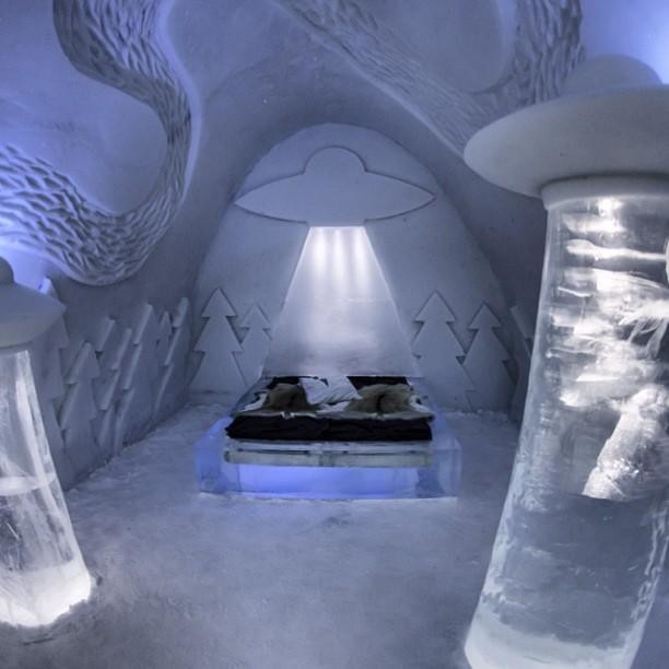 Modern Polar Expeditions#21 Hotel Room in Ice Hotel