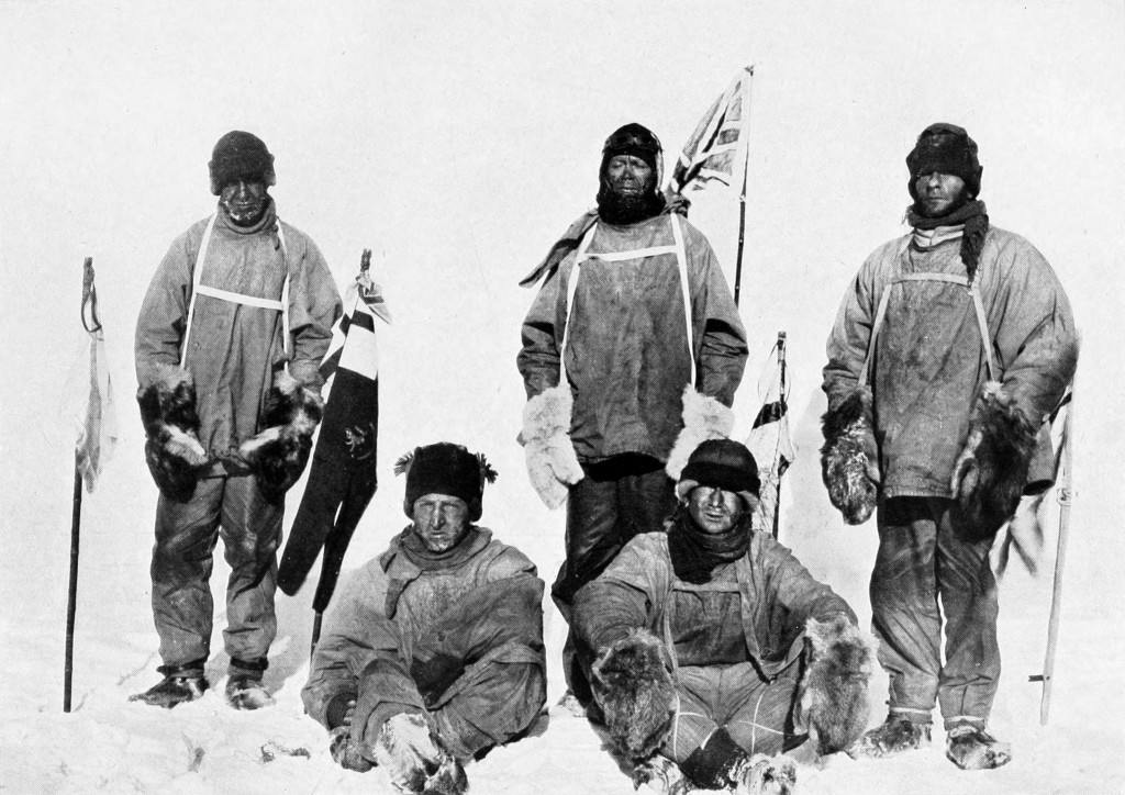 Scott's party at the South Pole