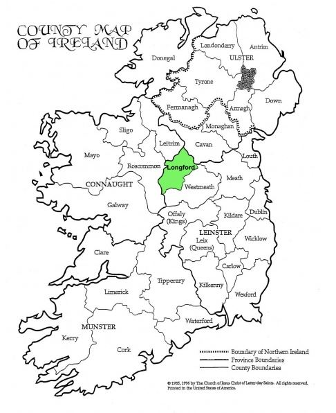 Counties of Ireland