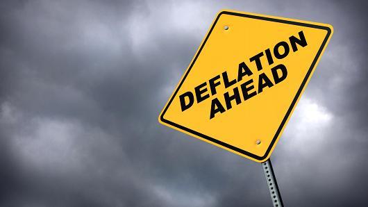 Deflation ahead