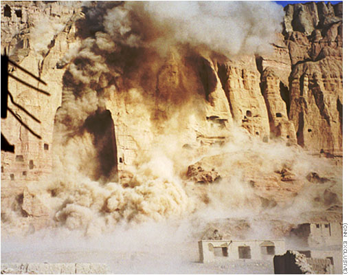 Destruction of Buddha statues in Afghanistan