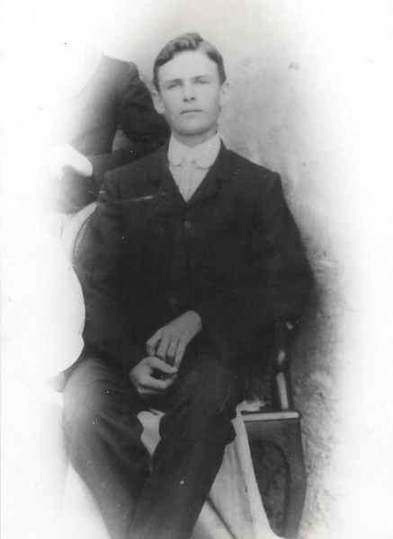 Harry Clifford McCleland at 18 years old