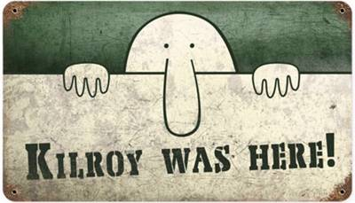 Kilroy was Here#1