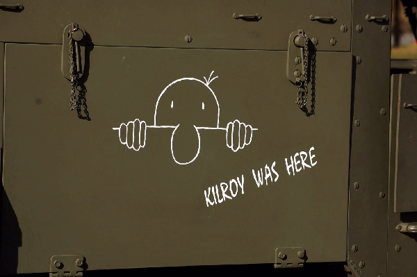Kilroy was Here#3