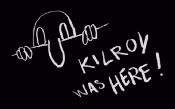 Kilroy was Here#4