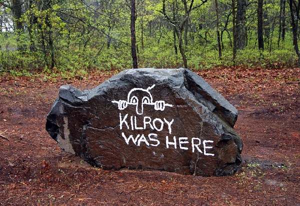 Kilroy was Here#9