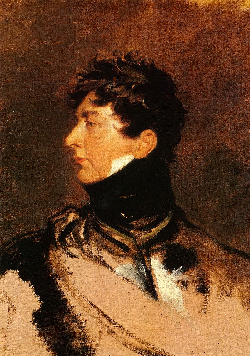 George IV of the United Kingdom as the Prince Regent, circa 1814.