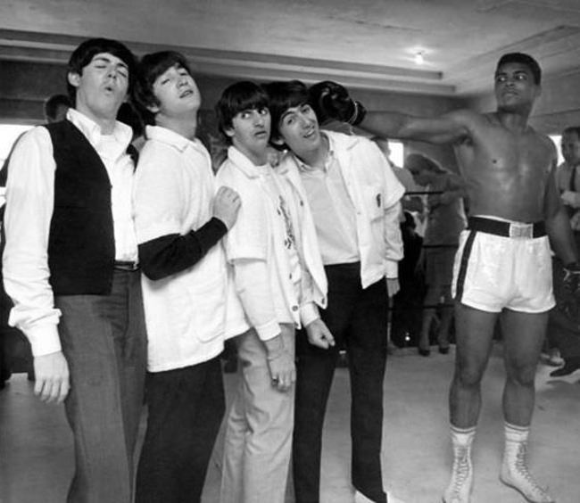 The Beatles and Ali - 1964