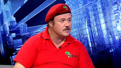 Wiekus Kotze-Former EFF CFO lays charges against party leaders