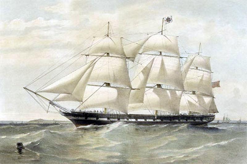 agamemnon-1855-bw-pai9322