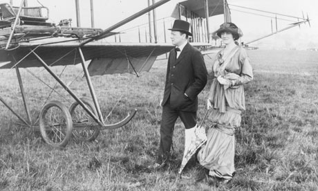 Clementine and Winston Churchill at Hendon Air Pageant