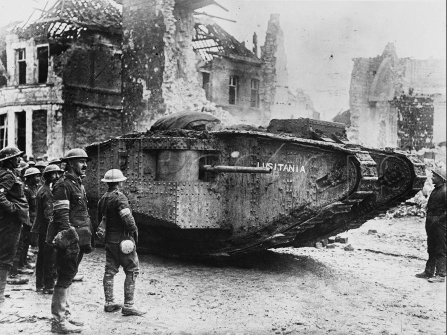 Lusitania_1917