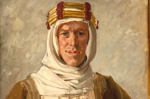 The enigmatic TE Lawrence later to be lionised as Lawrence of Arabia
