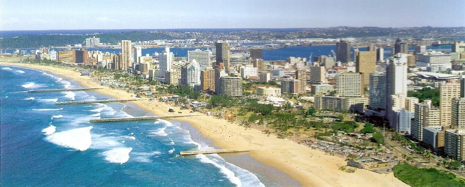One of the many out of town runs was a sweltering hot marathon in Durban