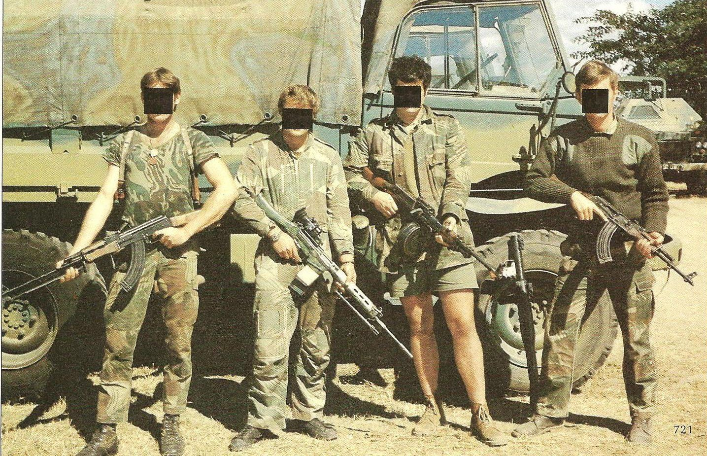 Image result for photo of stuart agnew in rhodesia army