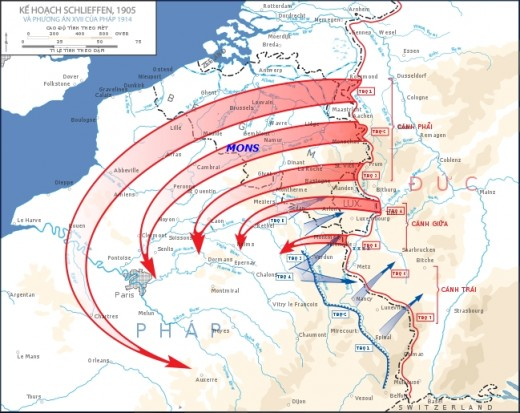The original Schlieffen Plan