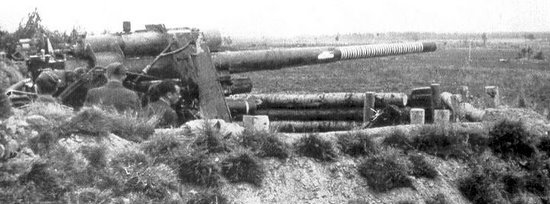A 88mm flak with 36 kills