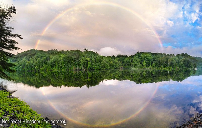 A Full Circle Rainbow