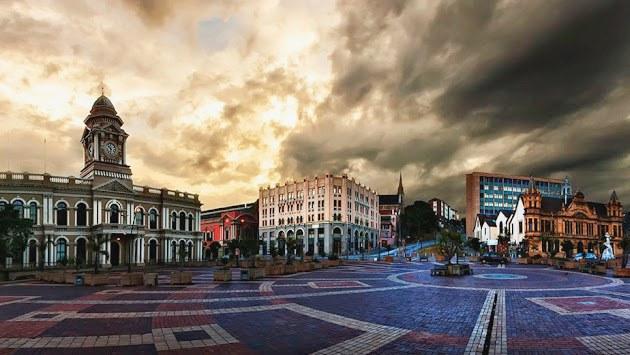 Central suburb of Port Elizabeth.