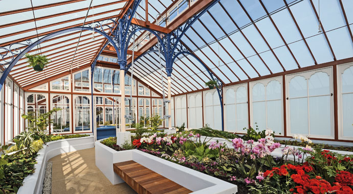 Conservatory in St Georges public park