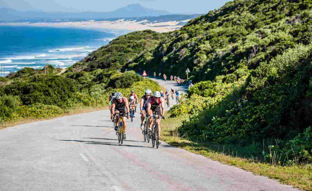 Cycling along the Port Elizabeth coastal roads