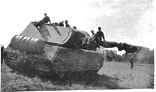Trials of the Maus in 1944