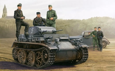 The puny Panzerkampfwagen i - Germany's first attempt at a tank design